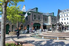 Liberty Wharf - Jersey's only covered Shopping Centre. Stroll along the cobbled streets and check out More Than Sport!