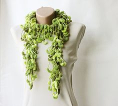 curly mulberry scarf