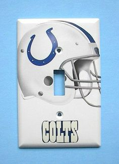Indianapolis Colts Single Switch Plate switchplate #2 . $9.49