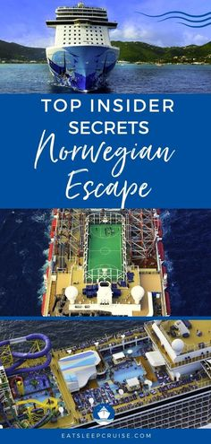 Norwegian Escape Secrets Every Cruiser Needs to Know. If you are sailing on this cruise ship, you will want to take a look at our insider tips. #cruise #cruiseship #CruiseNorwegian #cruisetips #insidertips
