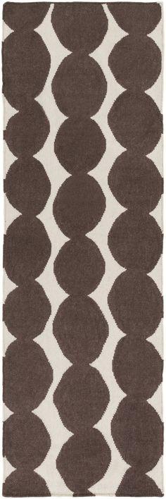 Surya TXT3012 Textila Brown Runner Area Rug
