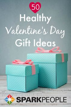 Sweet gifts that don't involve junk food! | via @SparkPeople #diet #health #fitness #valentine