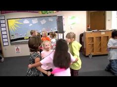 "Draw a bucket of water - YouTube I like the use of the scarves. It would help those students who are short or have short arms. Also would keep students from worrying about ""cooties""."