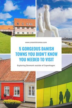 5 Gorgeous Danish Towns you didn't know you needed to visit! Click through to read the full article! Visit Denmark, Denmark Travel, Travel Destinations, Travel Europe, Travel Tips, Travel Stuff, Travel Ideas, Aarhus, Summer Travel
