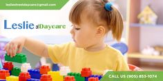 Leslie Street Daycare believes in laying a strong foundation in the early formative years of a child's life through quality daycare programs. Call us now at (905) 853-1074.