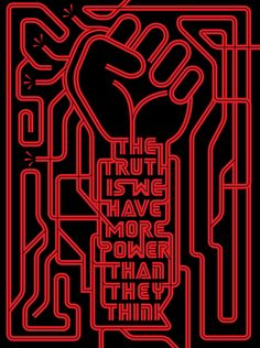 The truth is that we have more power than they think.Mr Robot Season 2 returns to Amazon Prime 14th July.