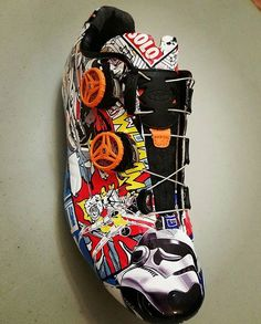 You might have picked up that here at Velokicks we're big fans of Star Wars - so when someone like @9dihtra combines it with cycling shoes we just about die. These kicks... #somuchwant • • • #velokicks l #cycling l #cyclingshoes l #northwave l #northwaveshoes l #starwars