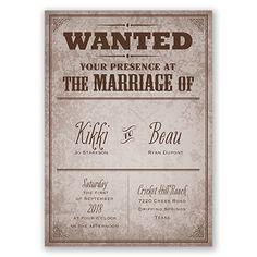 Rustic Wedding Invitation Wording Samples | Rustic Western Wedding ...