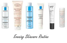 My evening skincare routine!