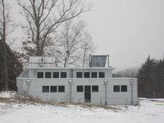 Passive Solar Prefab Home - Off Grid Living Enjoys The Snow