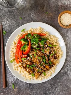 Healthy Instant Pot Teriyaki Chicken with rice and vegetables. Teriyaki Chicken And Rice, Orange Chicken Crock Pot, Chicken Thigh Stir Fry, Instant Pot Chicken Thighs Recipe, Spicy Dishes, Recipes From Heaven, Pressure Cooker Recipes, Slow Cooker, Pot Recipe