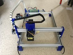 Picture of DIY 3D Printed Laser Engraver With Approx. 38x29cm Engraving Area
