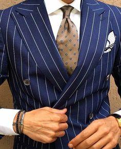Men's Stripe Suit