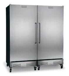 Amazon.com: Frigidaire 39 Cu. Ft. Commercial Refrigerator Freezer Combo FCRS201RFB_FCFS201LFB: Appliances