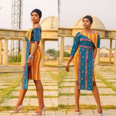 Smart Casual Ankara outfits we have for you is well selected for you to copy the styles and sew and wear on your weekends or some of your daily outtings to look smart and Adorable. Short African Dresses, African Print Dresses, African Print Fashion, African Wear, African Attire, African Fashion Dresses, African Women, Short Gowns, African Outfits