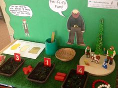 Interactive maths display - adding two single digit numbers - jack and the beanstalk