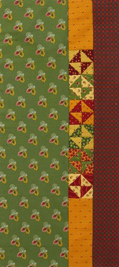Patterns for Small Quilts - Broken Dishes Table Runner