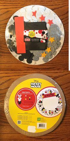 255d5a2e Foam and Felt Shapes 116654: Disney Mickey Mouse Foam Shape Platter Kit ->  BUY IT NOW ONLY: $10.75 on #eBay #shapes #disney #mickey #mouse #shape  #platter