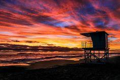 Pacific Sunset, Rosarito, Baja California, Mexico