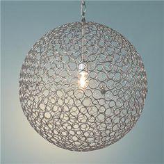 Circles Sphere Pendant Light - Large
