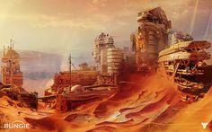 Concept Art World » Destiny Concept Art