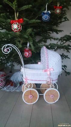 Мебель для кукол. .плетеная коляска купить Украина — SKRYNYA.UA