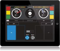 Serato Control for iPad. - need to learn how to use this