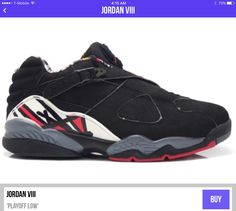 980f52a4d7a Air Jordan Retro 8, Retro Shoes, Sneakers Nike, Free Shipping, True Red