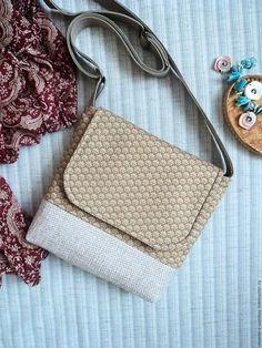 Купить Сумочка на заказ - бежевый, орнамент, сумочка через плечо, сумка текстиль, магазин сумок