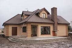 House Drawing, Exterior Paint, Home Fashion, Facade, Cottage, House Design, Cabin, Mansions, House Styles