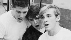 Brian, Carl and Dennis Wilson