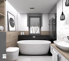 Aranżacje wnętrz - Łazienka: Łazienka styl Skandynawski - BAGUA Pracownia Architektury Wnętrz. Przeglądaj, dodawaj i zapisuj najlepsze zdjęcia, pomysły i inspiracje designerskie. W bazie mamy już prawie milion fotografii!