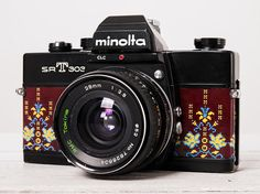 Minolta SRT303 functional vintage 35mm film analog SLR