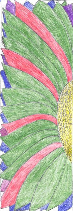 Bookmark by Aliyah S. | 2018 Student Bookmark Designs from Valley Crest Elementary | Granite Media