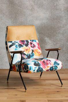 Quentin Chair, Vivid Floral - anthropologie.com