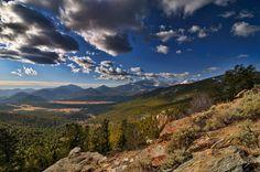 Many Parks Curve, Rocky Mountain National Park.