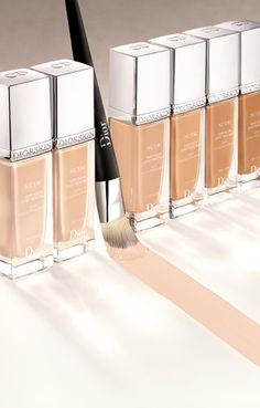 Diorskin Nude foundation...does what I dreamed foundation would do.  Feels light and makes skin look naturally perfect, a la Natalie Portman!