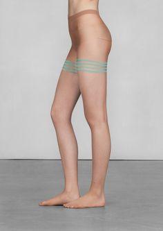 Stripe detail tights | Stripe detail tights | & Other Stories
