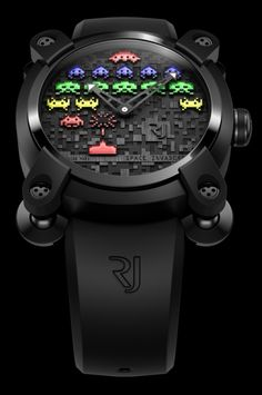 RJ-Romain Jerome Space Invaders Watch (colette Edition)