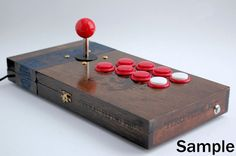 Custom Made-to-Order Arcade Stick with Sanwa Parts