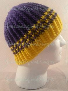 Beautiful and warm custom crocheted ribbed beanie hat. Made to order in your choice of colors. Our finished hat is a standard adult size designed to fit a head circumference of 20-24 inches but if you need a larger or smaller size, please request a custom listing as I would be overjoyed to hand make a customized beanie hat for you. Beanies should fit down to the middle of your forehead and come down to cover your ears for maximum warmth so please measure before ordering to make sure you have…