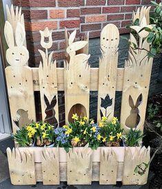 Paletten Deko Ostern Google Suche Ostern Basteln Holz