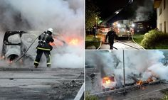 Sweden in flames: As gangs of migrants riot for five nights running... the Utopian boats of a multicultural success story turn to ashes