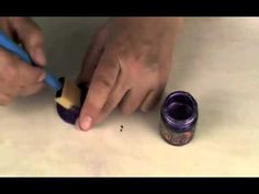Polymer Clay TV Alcohol and Acrylic Paint - YouTube