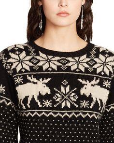 Polo reindeer sweater