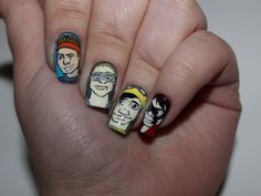 5sos lyrics drawings | 5sos 5 seconds of summer nail art she looks so perfect one direction ...
