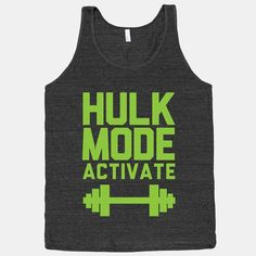 Unleash your inner beast. Just another nerdy workout shirt to get me motivated to workout