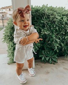 Cute Little Baby, Baby Kind, My Baby Girl, Little Babies, Baby Love, Cute Babies, Cute Baby Girl Outfits, Baby Outfits Newborn, Cute Baby Clothes