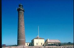 The three lighthouses of Skagen , Denmark