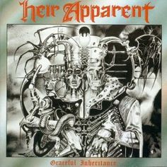 Heir Apparent, Graceful Inheritance****: Talk about not judging an album by its cover. I assumed that with that cover and logo design, this was most likely an early death metal or thrash metal band, but I was quite surprised when this came out sounding more like a prog metal or power metal album. And I was even more surprised to hear just how good it is. A very fine album from a band I've never heard of. 7/16/15